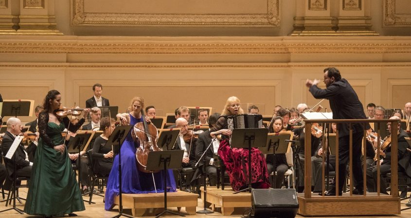 Boston Symphony Orchestra Harriet Krijgh - photo by Richard Termine